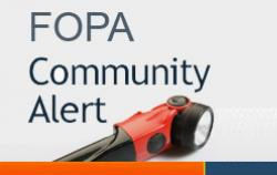 FOPA Community Alert
