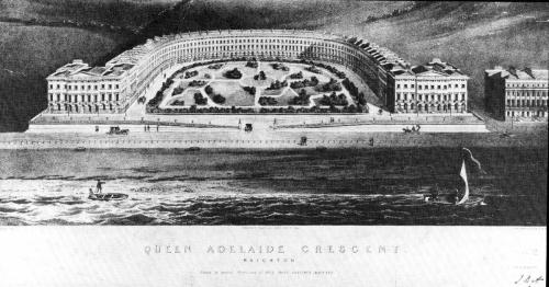 queen adelaide crescent 1830
